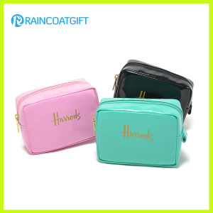 Women′s Shiny PU Cosmetic Bag Rbc-070 pictures & photos