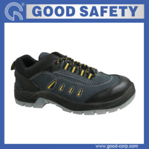 Slip Resistant Safety Shoes with High Density PU Outsole (GSI-1046)