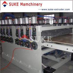 PVC Crust Foam Board Extrusion Lmaking Line Machinery (SJSZ-80/156) pictures & photos
