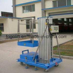 Single Person Manual Push Vertical Platform Lift pictures & photos