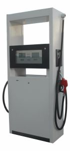 Two Nozzle One Pump Oil Station Fuel Dispenser with LED pictures & photos