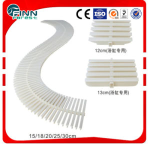 T Shape 12cm-30cm Bone Color ABS Grating Used for Swimming Pool or Bathroom pictures & photos