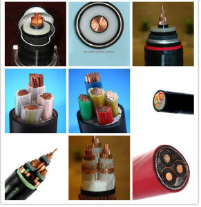 Copper/Aluminium Core XLPE/PE Insulation Power Cable pictures & photos