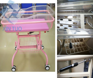 Factory Direct Price Head Section Adjust Medication Infant Crib Healthcare pictures & photos