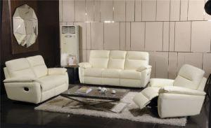 Electric Recliner Sofa USA L&P Mechanism Sofa Down Sofa (739#) pictures & photos