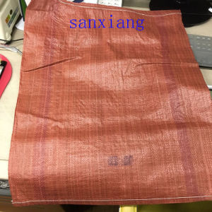 Orange Color PP Woven Bag Export to Korea pictures & photos