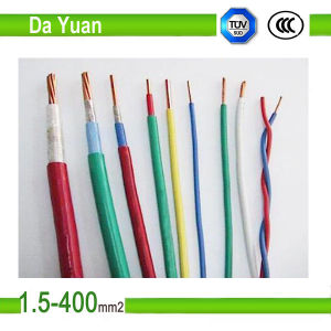 300/500V Building Wire BVV 1.5/2.5/4/6/10/16 mm2 PVC Wire pictures & photos