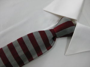 Knit Poly Tie (8987) pictures & photos