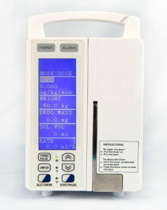 Infusion Pump Jsb-1200y with Drug Library/Syringe Infusion Pump pictures & photos