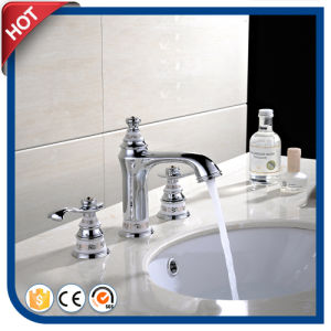 Double Handle Antique Style Bathroom Basin Faucets
