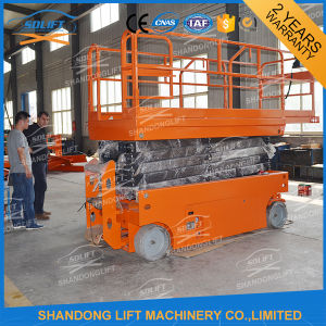 Hydraulic Scaffolding Scissor Lift Scaffold with Ce pictures & photos