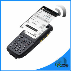 Hot Selling Portable Android NFC Barcode Scanner with Display pictures & photos