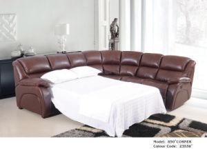Genuine Leather Recliner Sofa (850) pictures & photos