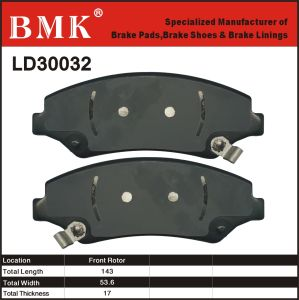 Adanced Quality Brake Pad (LD30032) for American Car pictures & photos