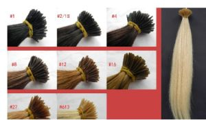 Hair Extension Wholesale U Tip & I Tip Natural Hair Extension pictures & photos