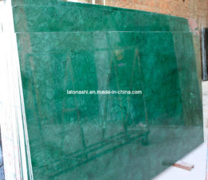 Polished India Medium Green Marble for Flooring and Wall pictures & photos