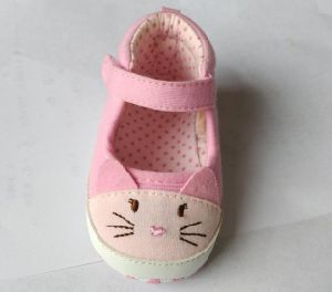 Lovely Cartoon Design Baby Casual Shoes Ws17555 pictures & photos