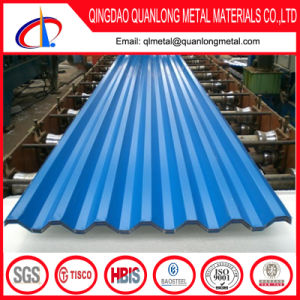 22 Gauge PPGL Galvalume Corrugated Roofing Sheet pictures & photos