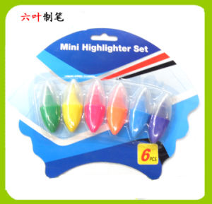 6PCS Mini Highlighter Pen Set (LH-3208) pictures & photos