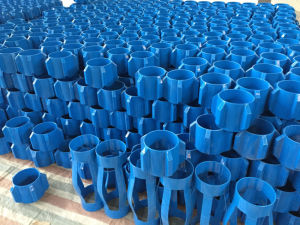 Cast Aluminium Spiral Vane Set Screw Rigid Roller Centralizer pictures & photos