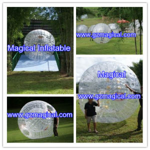 Transparent Adult Grass Running Zorb Ball Inflatable Zorb Ball (RA-097) pictures & photos