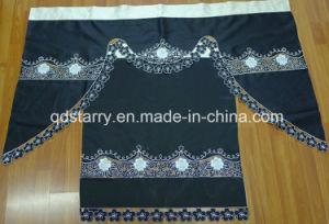 Black Color Amercia Kitchen Curtain pictures & photos