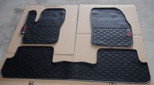 3 PCS Black Car Mat Car Floor Mat for Mazda3 pictures & photos
