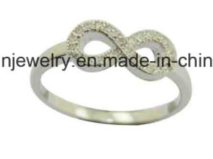 Stylish 925 Silver Hotselling Infinity Ring pictures & photos