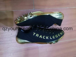 Light Weight Sprint Race Jump Running Track & Field Spikes Shoes pictures & photos