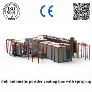 High Quality Powder Sieving Machine in Powder Coating Production Line pictures & photos
