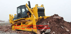 Shantui Brand SD42 Bulldozer 420HP with Rops and Fops, Straight Tilt Blade, Semi-U Blade, Angle Blade, Single/Three Shank Ripper pictures & photos
