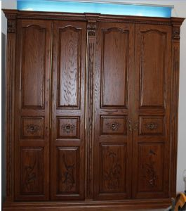 Wooden Wardrobe (Bedroom Furniture) YBW-3 pictures & photos