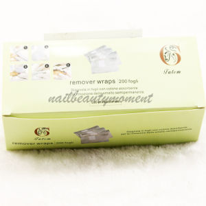 Nail Art Polish Remover Foil Wraps Manicure Products (NF07) pictures & photos