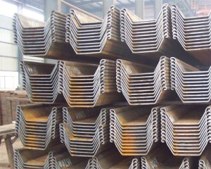 High Quality Cold Bend U Type Steel Sheet Piles Size 400mm*100mm*10.5mm pictures & photos