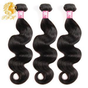 Peruvian Virgin Hair Body Wave with Lace Closure 3 Bundle with Closure Human Hair with Closure Peruvian Body Wave with Closure pictures & photos