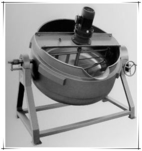 Jacketed Kettle/Cooking Pot/ Steam Boiler/Poultry Equipment/Chicken Meat pictures & photos