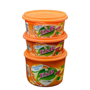 Different Specifications Orange Dishwashing Paste / Cleaner with SGS