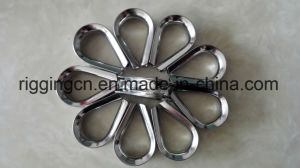 Stainless Steel European Rigging Thimble for Wire Loop pictures & photos