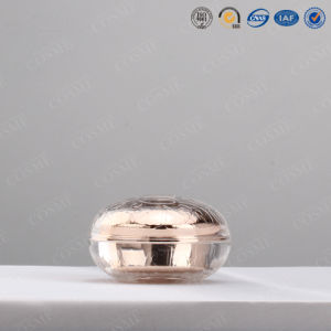 30g 50g High End Luxury Fashion Rose Plastic Acrylic Cosmetic Cream Jar pictures & photos