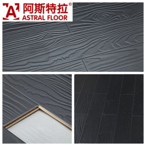 Jiangsu Changzhou Registered Embossed Surface (V-groove&U-groove) Laminate Flooring (AT006) pictures & photos