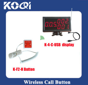 CE Approved 433.92MHz Wireless Nurse Calling Patient Paging System pictures & photos