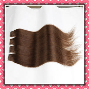 Premium Quality Remy Tape Hair Extensions Straight 26inches pictures & photos