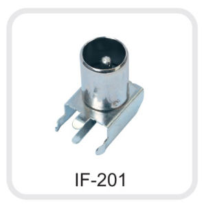 F Coaxial Connector (RF-001) pictures & photos