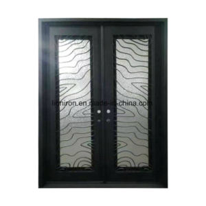 Custom Wrought Iron Entry Doors Grill pictures & photos