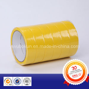 Shrinked Yellow Masking Tape pictures & photos