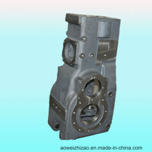 Customized Ductile Iron Casting Gearbox by Sheel Casting, ISO 9001: 2008, Awkt-0004 pictures & photos
