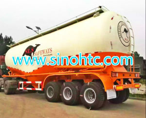 50 Cbm Bulk Cement Tank Trailer, Bulk Powder Delivery Semi-Trailer pictures & photos