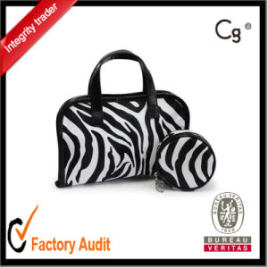 Leather Cosmetic Bags Set pictures & photos