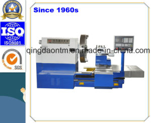 CE Certificated Horizontal CNC Lathe with ABB Motor &Gearbox pictures & photos