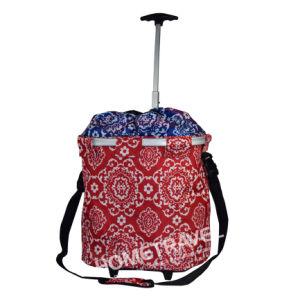 OEM Fashion Trolley Rolling Shopping Basket pictures & photos